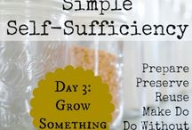 Self Sufficient Lifestyle