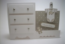 Baby Cards- Stampin' Up! / Cards for baby made with the gorgeous Stampin' Up! range