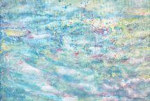 Art: Iris Grace paintings / by Christi