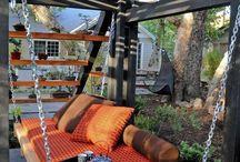 Wooden deck ideas / Plaas