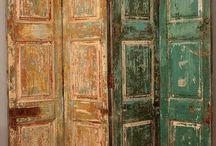 decorado con Puertas