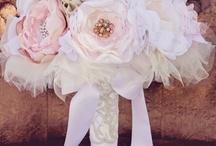 DIY wedding flowers & hair