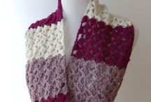 Crochet ~ Scarves, Cowls, Hooded Scarves, etc. / crochet patterns