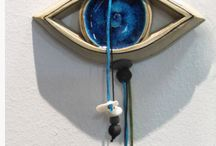 Evil Eye home decor ideas, interior design, evil eye sculpture / Evil Eye home decor ideas - evil eye interior design, evil eye sculpture evil eye wall art charms
