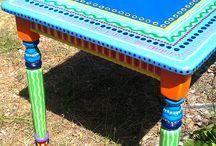 Kleurrijke meubels / Kleurrijke meubels