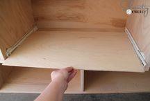Instalacja szuflad