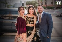 Indian Real Brides, Indian Grooms, Happy Customers / G3fashion Happy customers and Real brides and Grooms in our Indian Fashion Outfits. Thanks to all for sharing your precious. Indian wear outfits worn for weddings, indian wear for festivals,