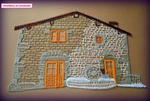 bobbin lace buildings