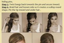 Hair-do / All about hair do- up do - braidings for any occasion :) get classy yet timeless !