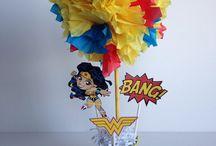 Fiesta superman wonder woman
