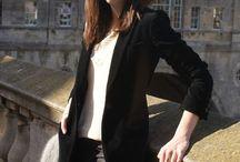 Velvet blazer / velvet blazer
