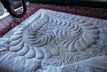 Quilting -- feathers