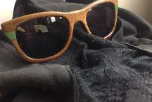 AnuKi #wood #sunglasses  / Chick or geek?  Wood Sunglasses