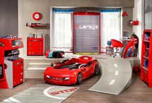 Alex's racing car room