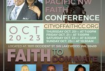 """2016 Pacific Northwest Faith Conference """"Faith to Dominate"""""""