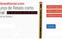 Concursos literarios / Portadas de concursos literarios