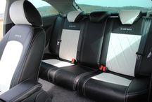 Seat Ibiza 6J / Pure Eleganz dank Autositzbezügen von Seat-Styler mit Royal-Step Naht und Design Kopfstützen!  Weiter Bilder seht Ihr auf:www.seat-styler.de/sitzbezuege-seat-ibiza/