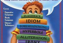 Middle School: Reading Fiction / by Kristin Fenwick