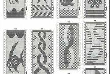 Minta / A minták többsége elkeszitheto horgolassal keresztszemes himzessel akár gobleinkent is