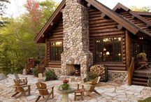 mountain cabin