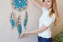 Wandschmuck Tiffany