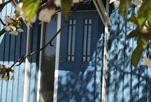 Blå ytterdør / Klassiske og moderne blå dører.