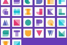 Alphabet material design