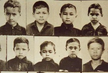 Cambodia / Cambodia: 1975-79, Khmer Rouge sought to create a new society and start again in 'Year Zero'.  Cities were evacauted and people were worked to death on large collective farms. The extremism of Pol Pot's regime meant that people could be killed even for wearing glasses.