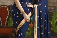 Georgette Saree With Blouse / description: Best quality Georgette Saris for different kinds of occasions like wedding, party, festivals at affordable prices. Designer Sarees in different shades are available http://www.nallucollection.com/saree/georgette-sarees.html