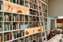 TV-stue/bibliotek