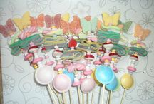 Favours for parties, weddings, christenings etc / A selection of ideas for favours
