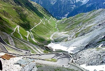 Alps / Travelling by moto up and down the Alps