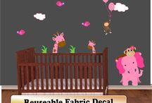 Baby Girl Nursery Ideas / Ideas for decorating Baby Boy Nurseries