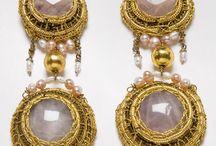 Earrings by Voula Karampatzaki