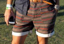 Men's fashion aztec