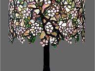 lampy i witraże