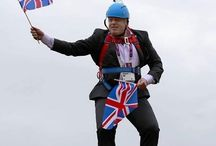 it's Boris!  Great Fun! / I believe he will be an excellent Foreign Secretary. He will surprise you all!!  He is a very erudite man .