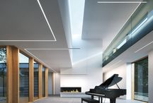 Linear lighting / Pins about linear lighting.