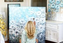 Acrylic inspiring paintings