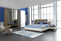 Leader Yatak Odası / Yatak Odası İzmir Ervada mobilya