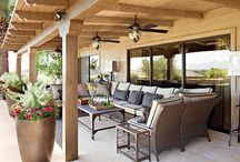 patio ideas / by Anna Marie