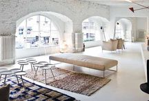Living Room / Inspirational spaces for lounging, living...