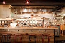 restaurant + open kitchen concept