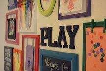 Kids art frame ideas