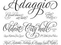 Lettering & Fonts / Fonts, typography, hand lettering, calligraphy  / by Christy of Itsy Belle