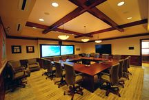 Collaboration Rooms / Collaboration rooms (board rooms, meeting rooms, conference rooms, etc) of Hi-Fidelity clients.