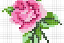 çiçekçii / kese süsleme