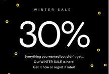 Up to -50%! Don´t Miss Our WINTER SALE!