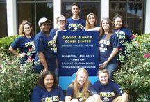Fall 2016 Campus Bookstore Student Ambassadors / Campus Bookstore Ambassadors promote the bookstore through social media posts, events, contests, product reviews, and surveys.