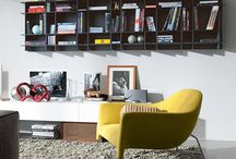 Poliform / Libraries, containers, cabinets, beds, kitchens and padded. Clean lines, essential, refined, visible and tactile quality materials and finishes. A giant of Made in Italy design for a safe purchase over time.